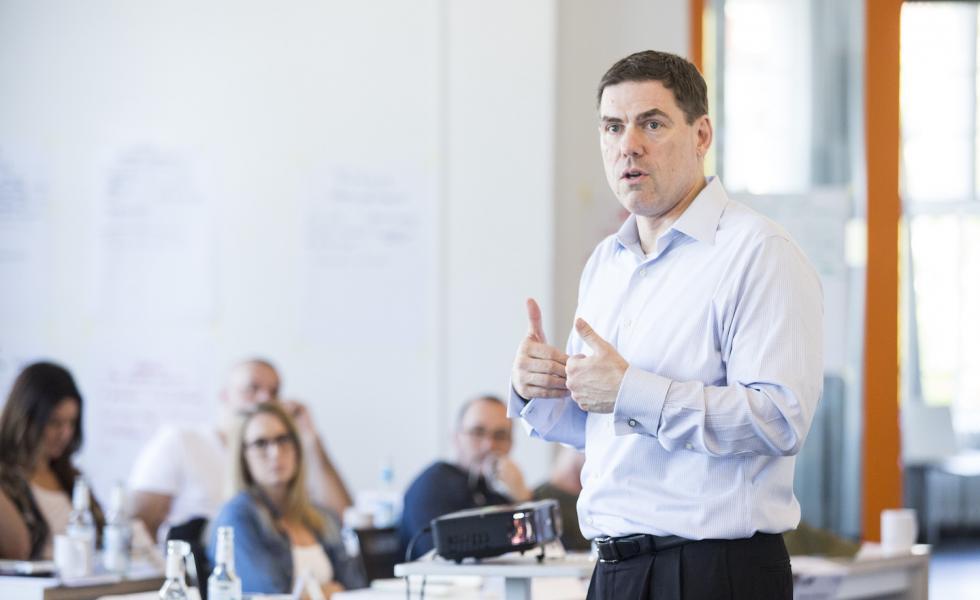 David Slocum  at Berlin School Creative Leadership