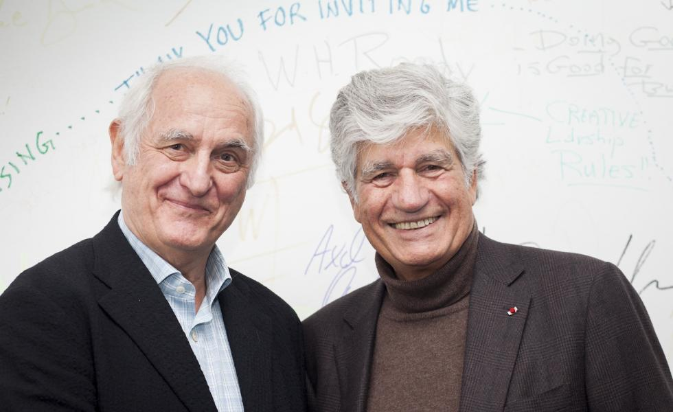 Maurice Levy and Michael Conrad Berlin School