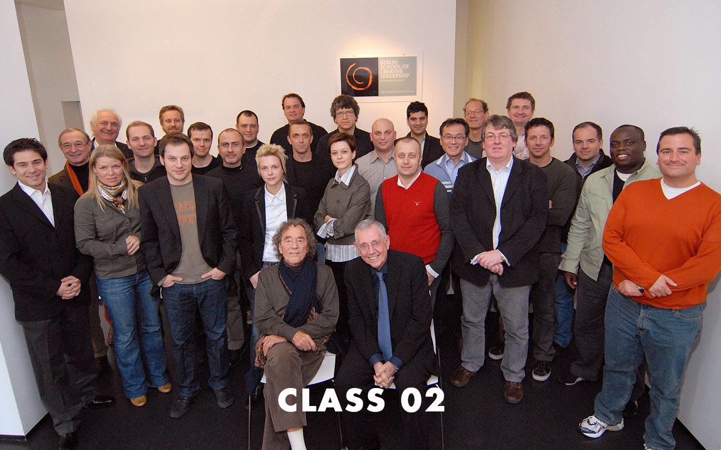 Class Picture EMBA Class 02
