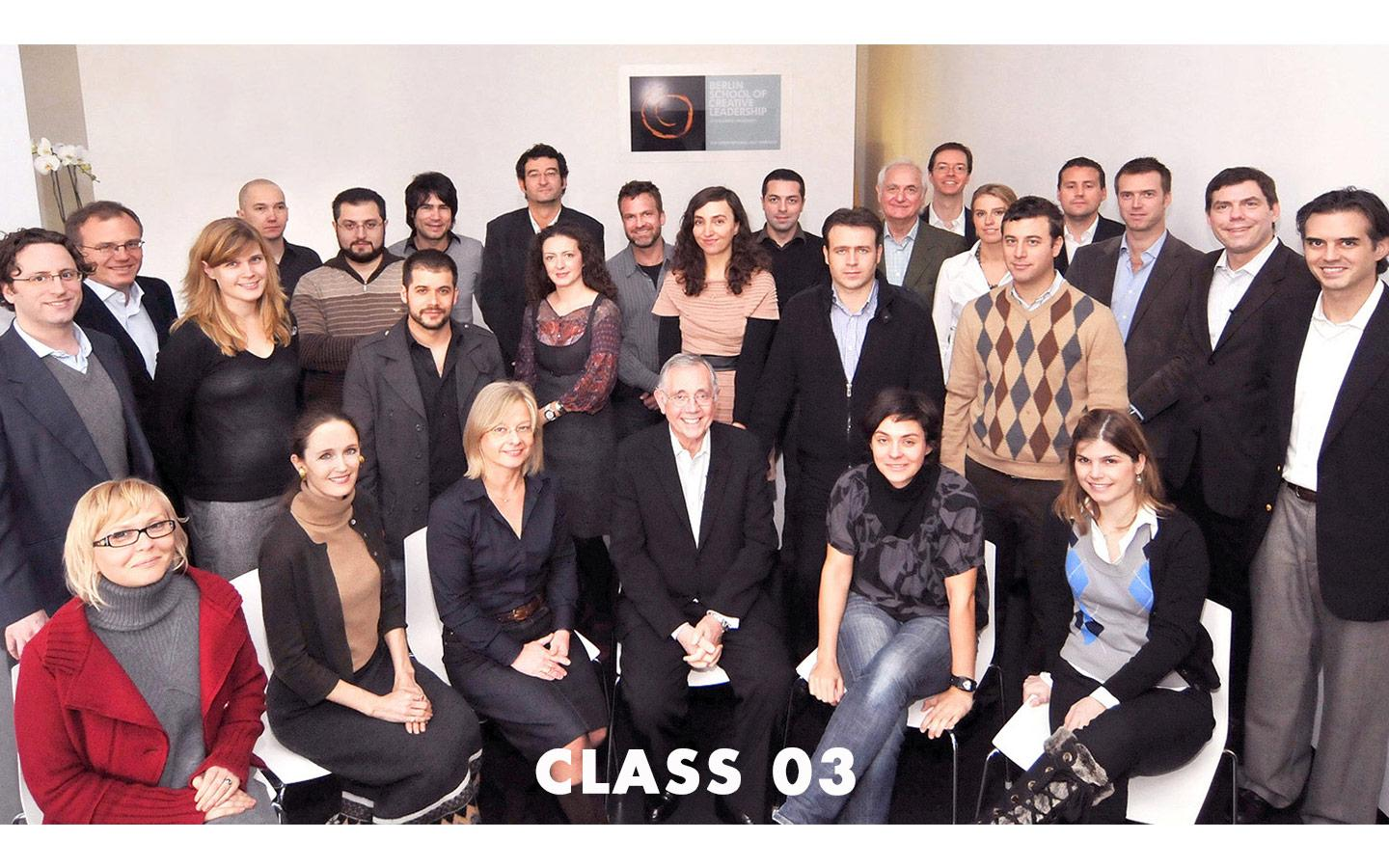 Class Picture EMBA Class 03