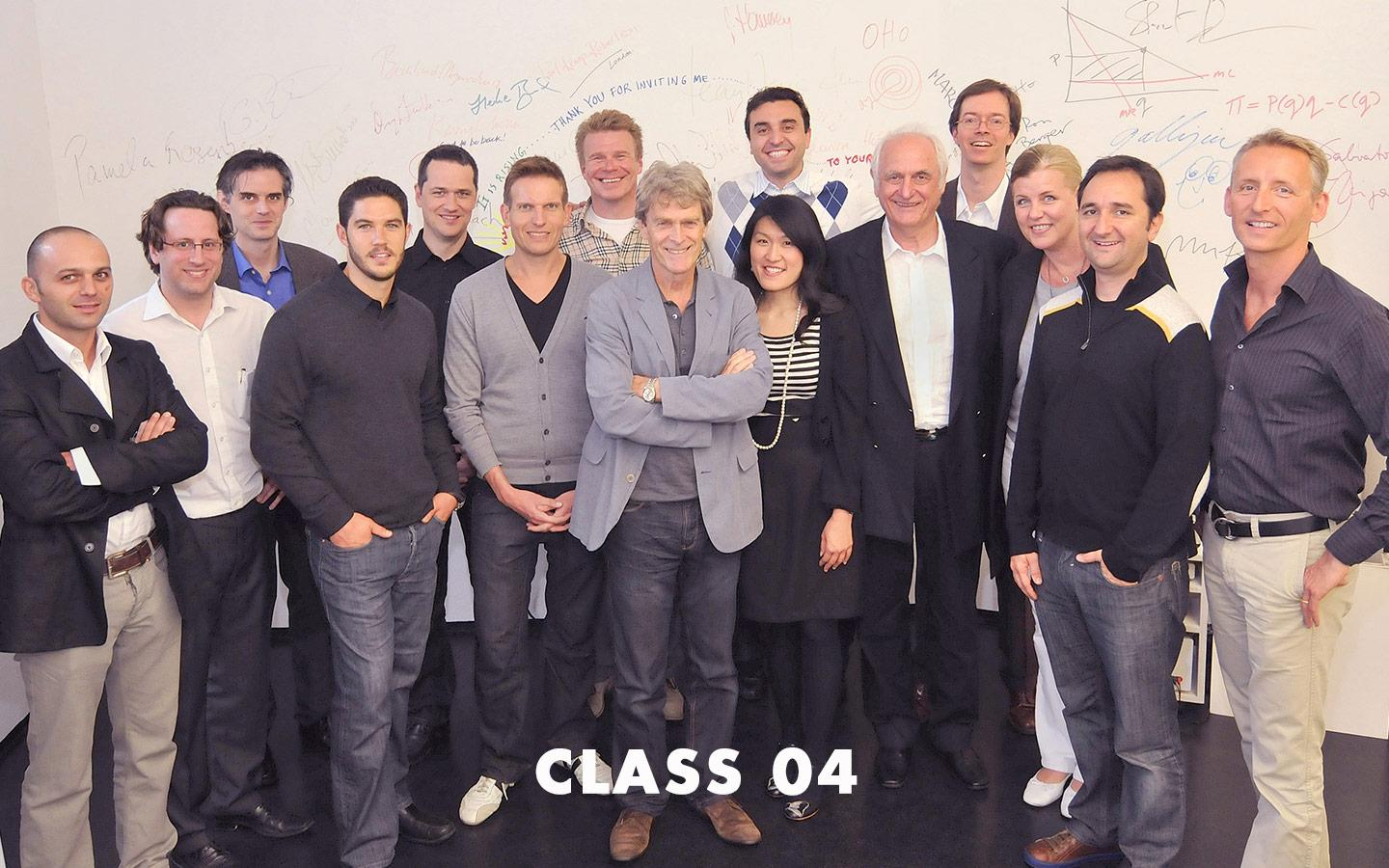 Class Picture EMBA Class 04
