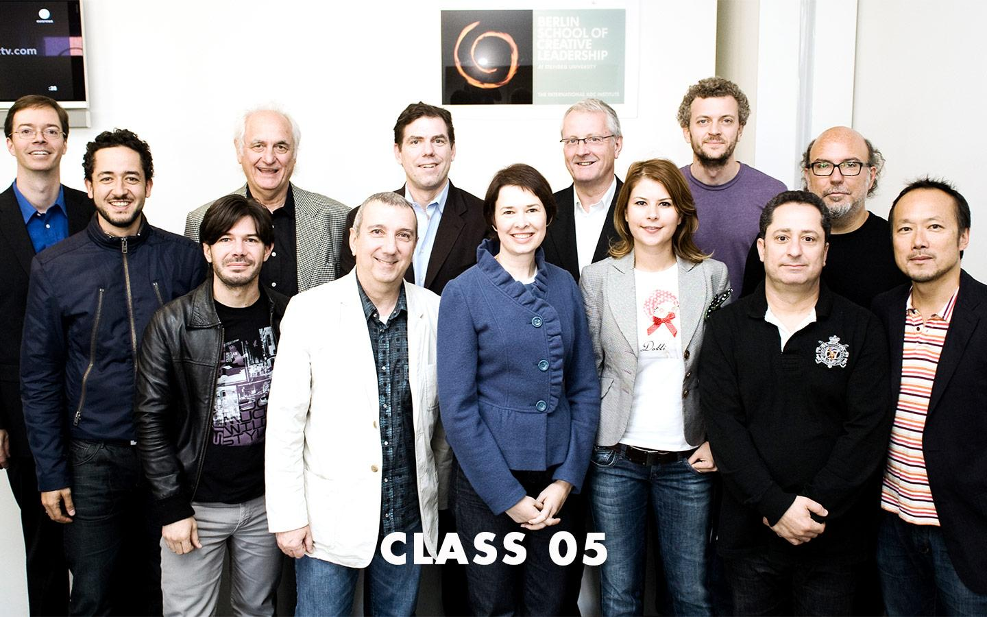 Class Picture EMBA Class 05