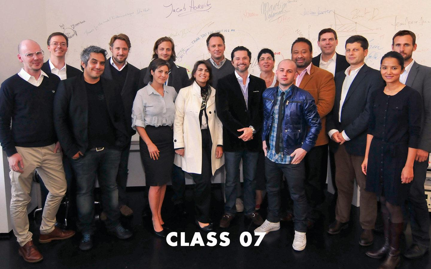 Class Picture EMBA Class 07