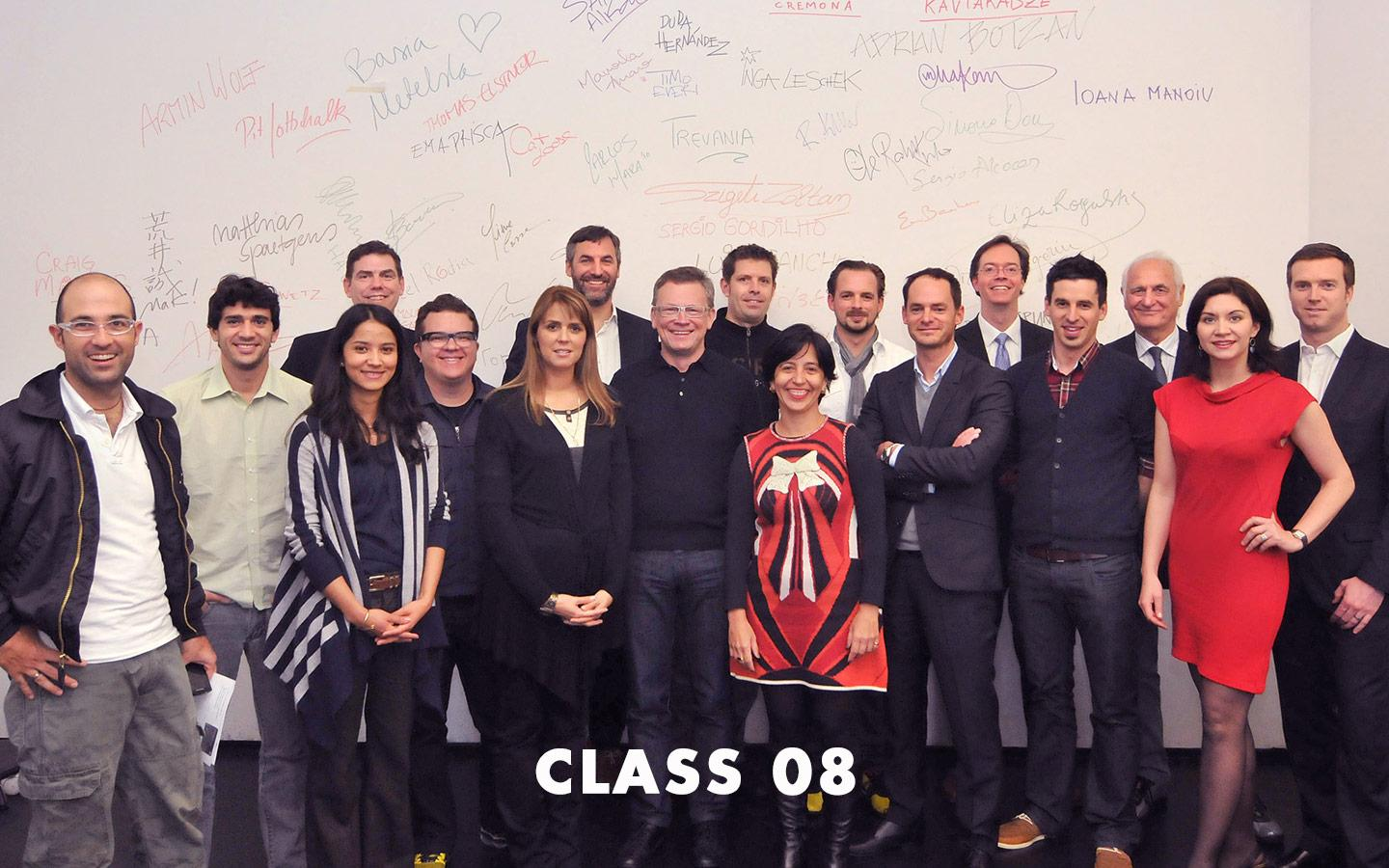 Class Picture EMBA Class 08