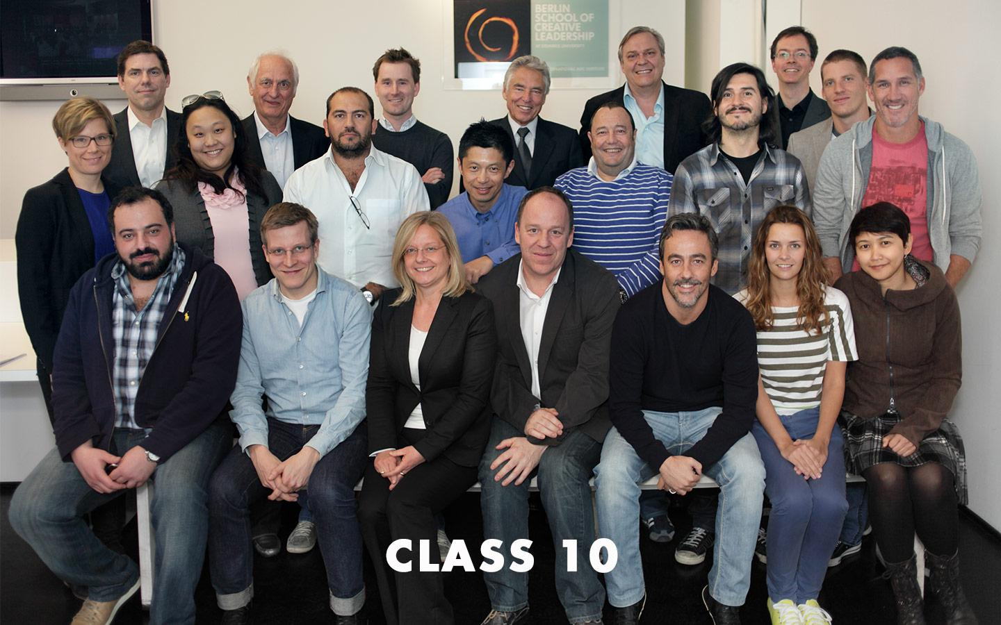 Class Picture EMBA Class 10
