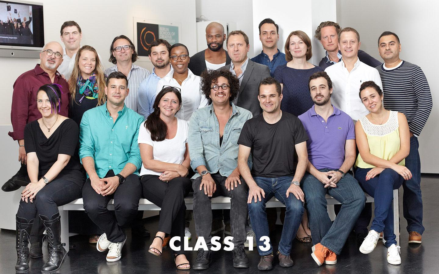 Class Picture EMBA Class 13