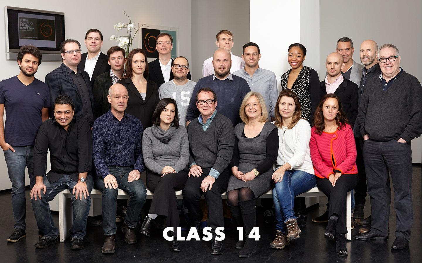 Class Picture EMBA Class 14