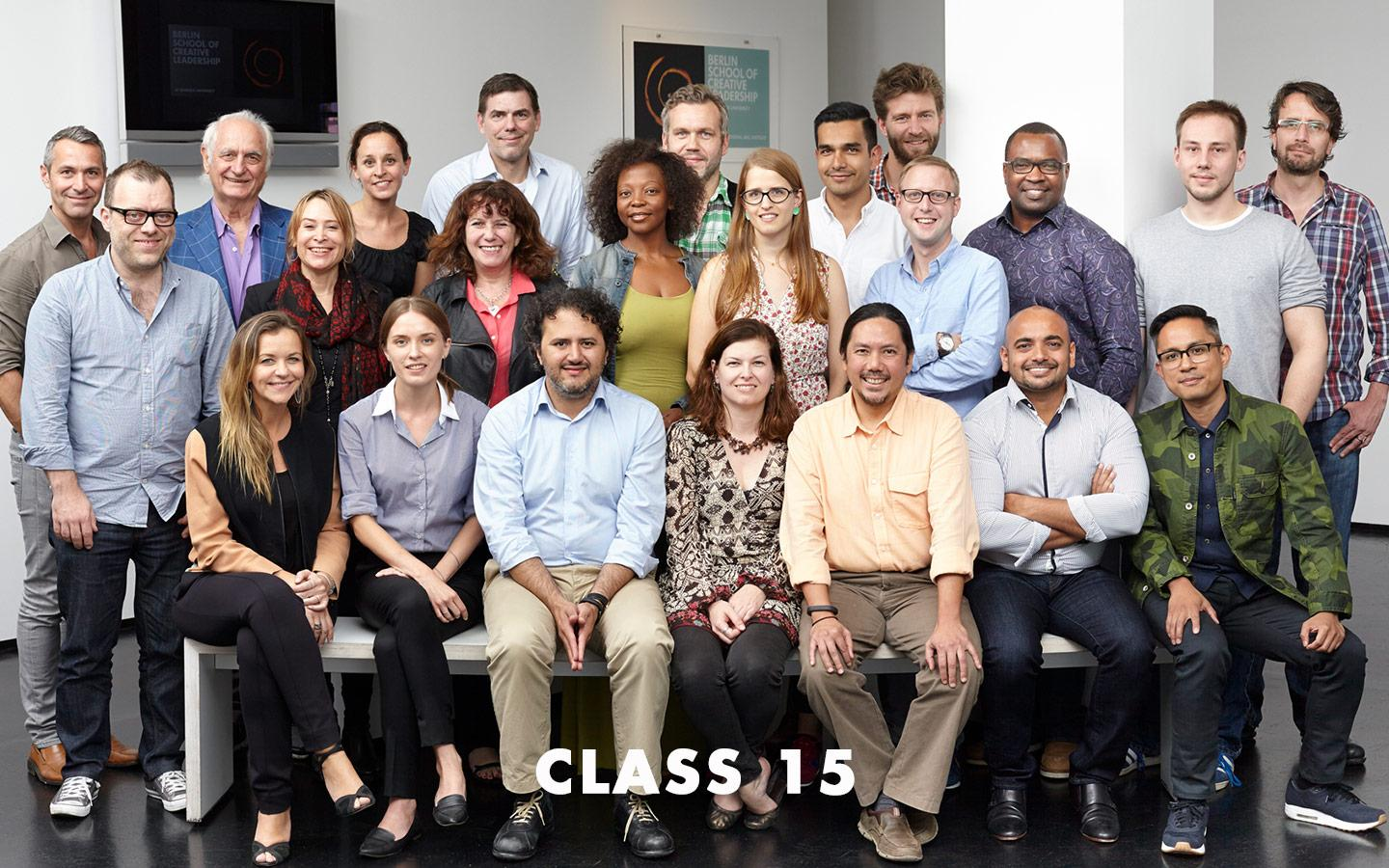 Class Picture EMBA Class 15