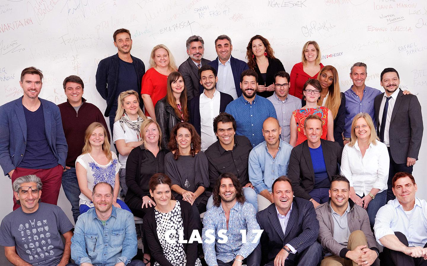 Class Picture EMBA Class 17