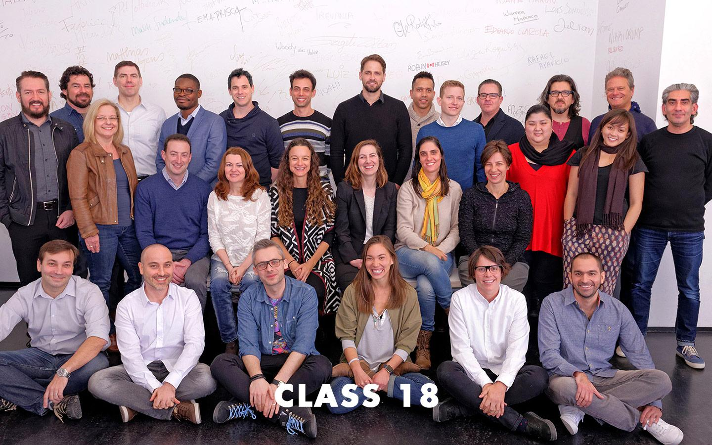 Class Picture EMBA Class 18