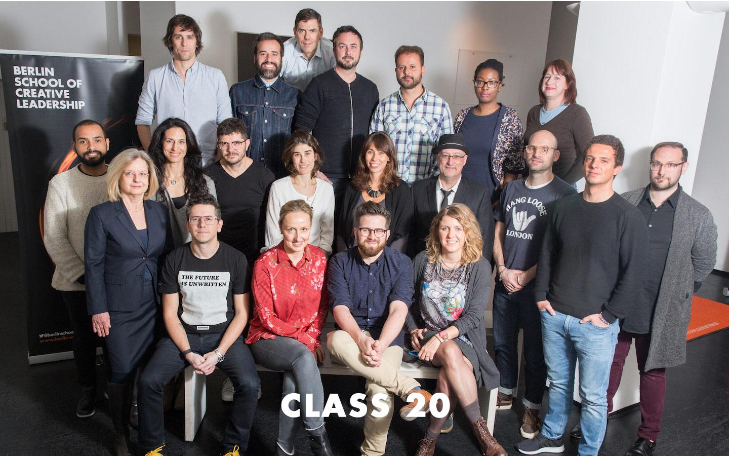 Class Picture EMBA Class 20
