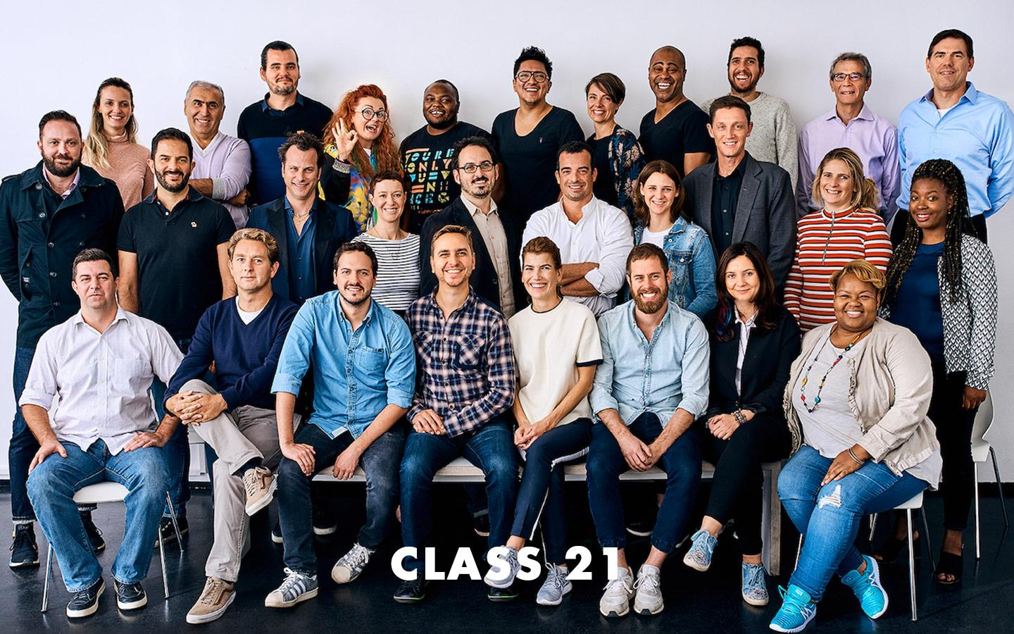 Class Picture EMBA Class 21