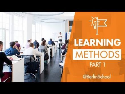 Embedded thumbnail for Berlin School Learning Methods Part 1