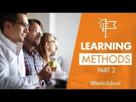 Embedded thumbnail for Berlin School Learning Methods Part 2