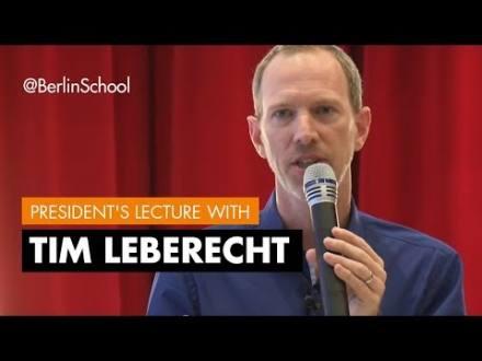 Embedded thumbnail for President's Lecture Tim Leberecht