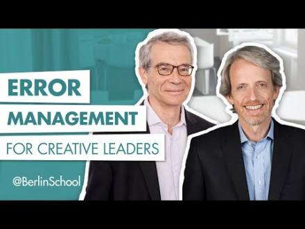 Embedded thumbnail for Error Management for Creative Leaders
