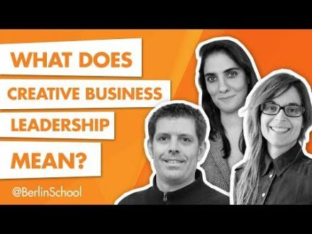 Embedded thumbnail for What Does Creative Business Leadership Mean to You?