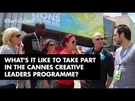 Embedded thumbnail for Cannes Creative Leaders Program Participant Interviews