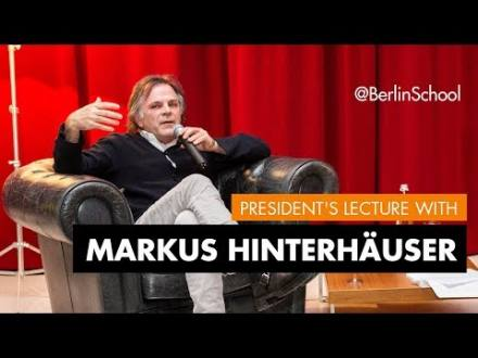 Embedded thumbnail for President's Lecture with Markus Hinterhäuser