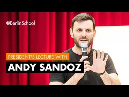 Embedded thumbnail for President's Lecture Andy Sandoz